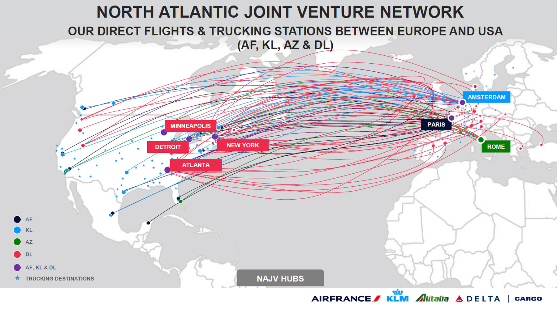 Air France Klm Martinair Cargo North Atlantic Joint Venture